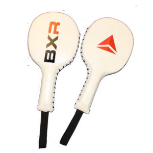 BXR Precision MKII Punch Paddles – White