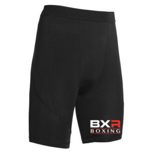 BXR Boxing Base Layer Compression Shorts – Black