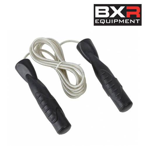 BXR Wire Speed Rope – Grey/Black [7ft, 8ft, 9ft or 10ft]