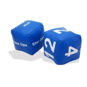Bytomic Martial Arts Drill Dice – Blue
