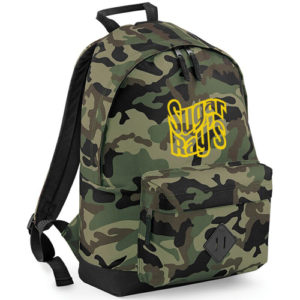 Sugar Ray's Sports Backpack – Camo Green