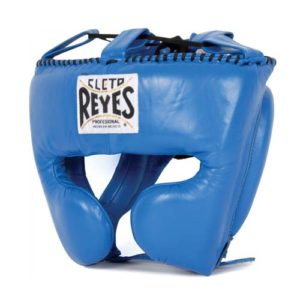 Cleto Reyes Headgear Protector (With cheek guards) – Blue