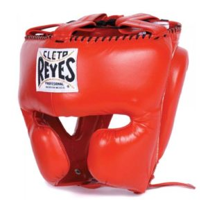 Cleto Reyes Headgear Protector (With cheek guards) – Red