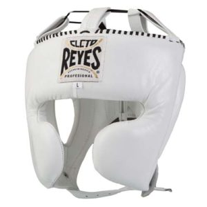 Cleto Reyes Headgear Protector (With cheek guards) – White