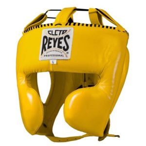 Cleto Reyes Headgear Protector (With cheek guards) – Yellow
