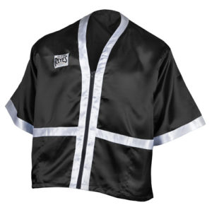 Cleto Reyes Cornerman's Jacket – Black/White