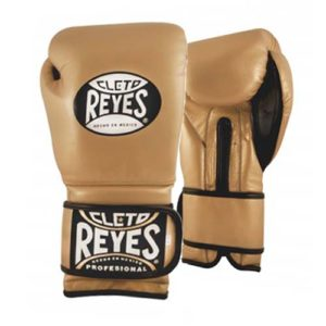Cleto Reyes Hook and Loop Sparring Gloves – Gold