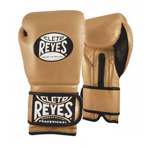 Cleto Reyes Hook and Loop Sparring Gloves – Gold