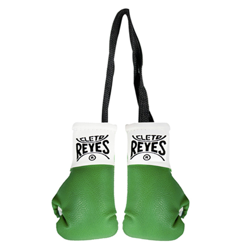 Cleto Reyes Miniature Pair Of Professional Leather Contest Gloves – White
