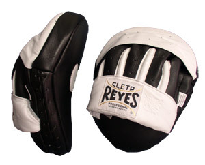 Cleto Reyes Curved Hook and Jab Pads – Black/White
