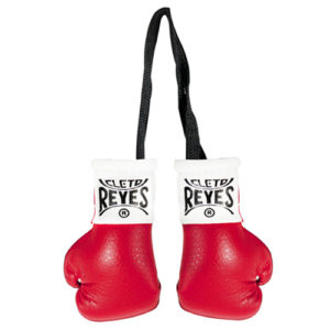 Cleto Reyes Miniature Pair Of Professional Leather Contest Gloves – Red