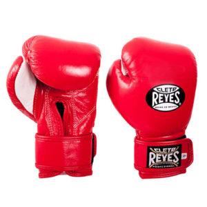 Cleto Reyes Velcro Kids/Junior Sparring Gloves – Red