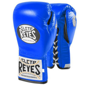Cleto Reyes Safetec Profight Boxing Glove- Blue