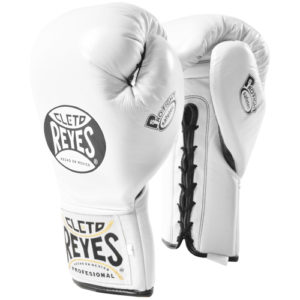 Cleto Reyes Safetec Profight Boxing Glove – White