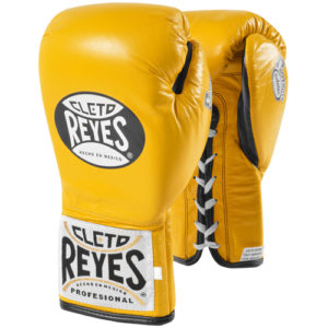 Cleto Reyes Safetec Profight Boxing Glove – Yellow
