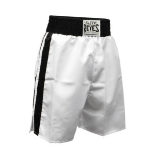 Cleto Reyes Boxing Shorts – White/Black