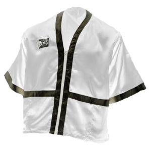 Cleto Reyes Cornerman's Jacket – White/Black