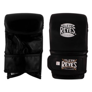 Cleto Reyes Leather Wrap Around Bag Mitts/Gloves – Black