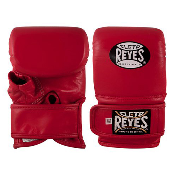 Cleto Reyes Leather Wrap Around Bag Mitts/Gloves – Red