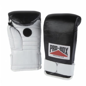 Pro-Box Coach Spar Gloves – Black/White