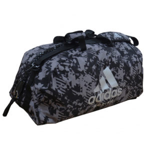 Adidas 2 In 1 Boxing Holdall – Dark Camo Grey/Black