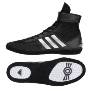 adidas Combat Speed IV Boxing Boot – Black/Silver