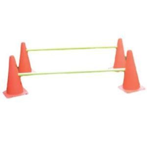 BXR Fitness 12″ Cone Agility Ladder Hurdles [Set of 10]