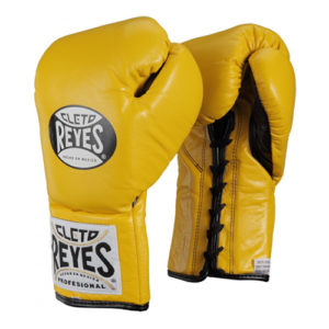 Cleto Reyes Professional Contest Glove – Yellow