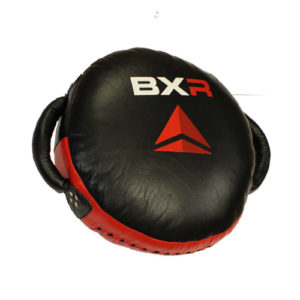 BXR Premium Round Punch Cushion – Black/Red