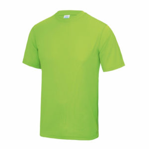 UNBRANDED Junior/Kids Lightweight Cool T-Shirt – Electric Green