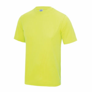UNBRANDED Junior/Kids Lightweight Cool T-Shirt – Electric Yellow