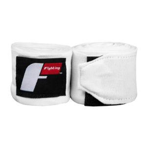 Fighting Semi-Elastic 180″ (4.5m) Hand Wraps – White
