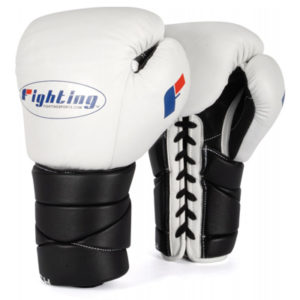 Fighting Sports Tri-Tech® Lace Training Gloves – White