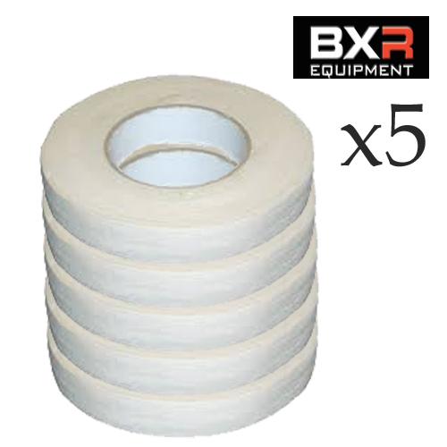 BXR ZINC OXIDE TAPE [25MM X 50M] x5
