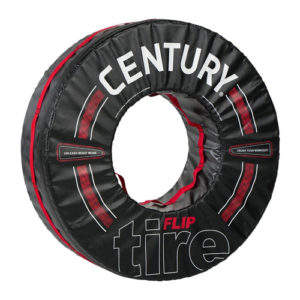 Century Foam Flip Tyre – Black/Red