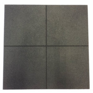Pro-Box Rubber Gym Floor Tile – Black