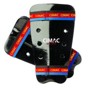 Cimac Dipped Foam Shin Guards – Black