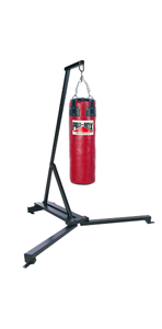 Pro-Box Free Standing Punch Bag Frame & Leather Bag