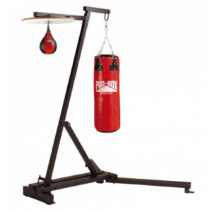 Pro-Box Free Standing Punch Bag Frame with Speedball Platform