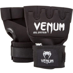 Venum Kontact Gel Wrap Gloves – Black/White