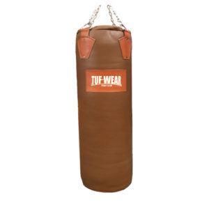 Tuf Wear Gigantor 4.5ft Leather Punch Bag – Classic Brown