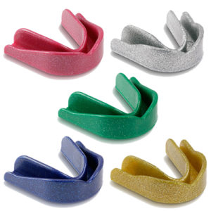 Single Gumshield Pack of 10 Sparkle Colours