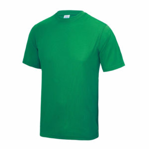 UNBRANDED Junior/Kids Lightweight Cool T-Shirt – Green