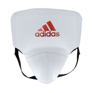 Adidas AdiStar Pro Groin Guard – White/Red