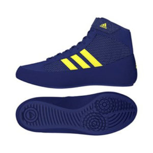 Adidas Havoc K Junior Wrestling/Boxing Boot – Mystery Blue/Yellow