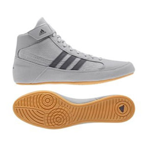 Adidas Havoc K Junior Wrestling/Boxing Boot – Grey/Grey