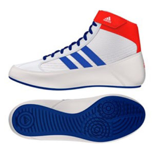 Adidas Havoc Adult Wrestling/Boxing Boot – White/Red/Blue
