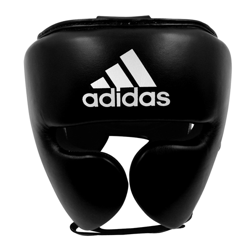 Adidas AdiStar Pro Head Guard – Black/White