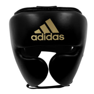Adidas AdiStar Pro Head Guard – Black/Gold