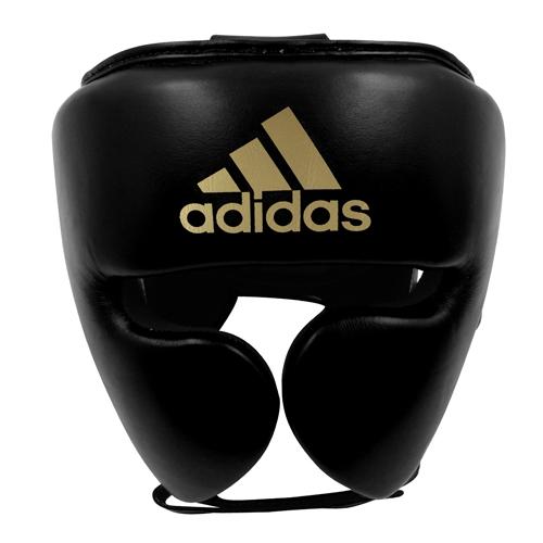 Adidas AdiStar Pro Head Guard – Black/Gold
